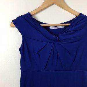 Dresses & Skirts - Jules and Jim Royal Blue Maternity Dress Small